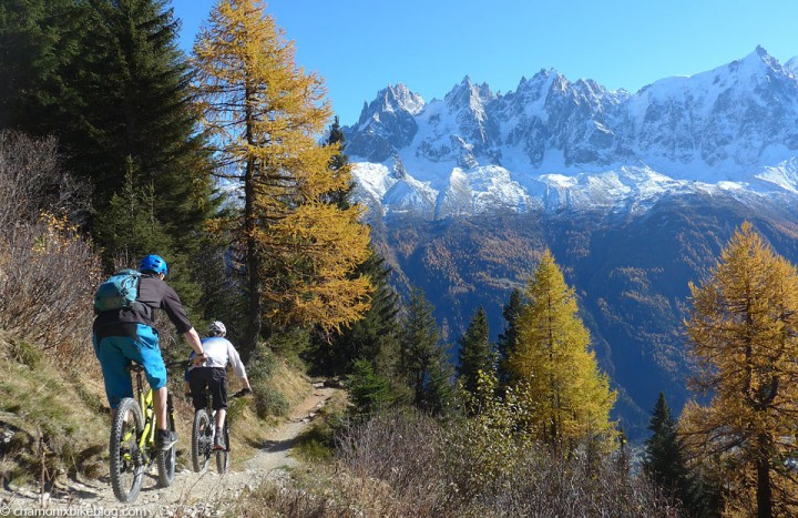 1st November, Spence & Lorne, Chamonix: Why would we want to be anywhere else?