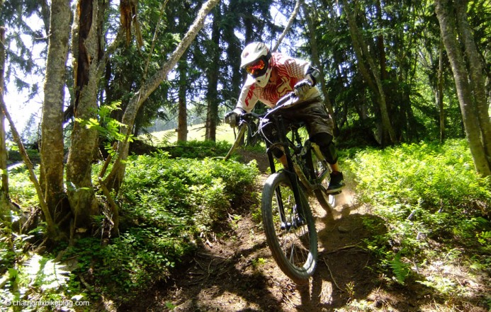 and loam. The track has REALLY good loam.
