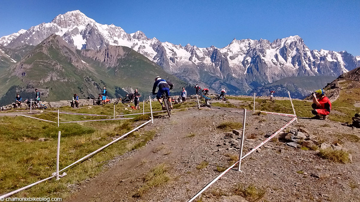 Top of stage 1 on race day. That's what I call a backdrop...
