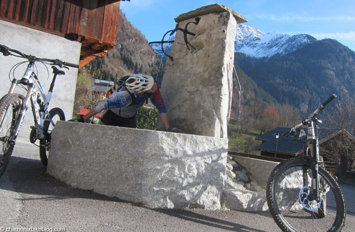 Mid climb re-fuel. Who thought sticking a fountain in the middle of a road was a good idea?