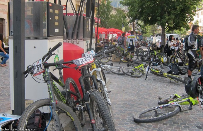 When enduro comes to town....