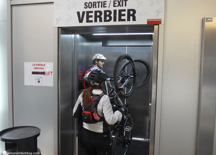 Even once you were off the gondola the hassle continued. Who installs a compulsory lift in a ski station!