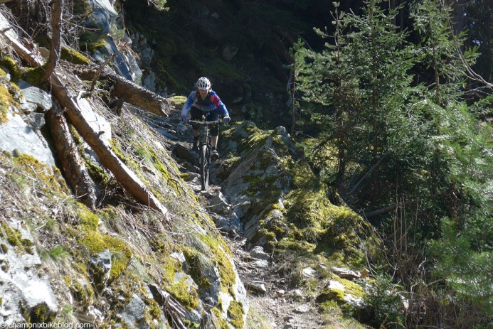 Verbier trails. Tech, rocky and exposed. Much like Chamonix then.