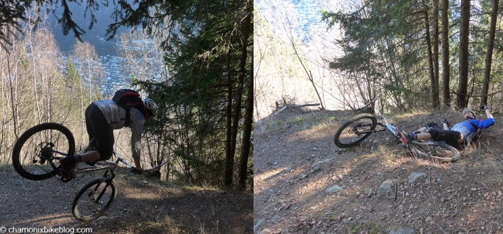When switchback rolling-endos go wrong..... (sorry Spence)
