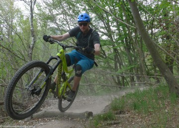 Lorne back on the Isallo Extasy trail. Always try to end the post on a good shot...