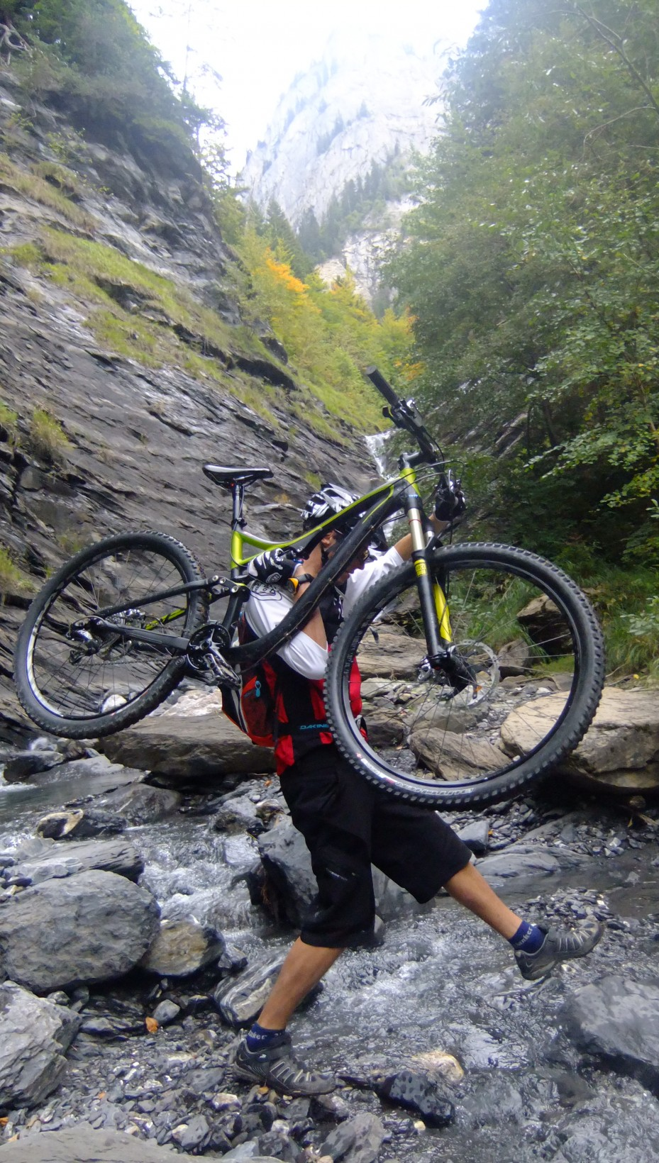 River crossings just add to the fun