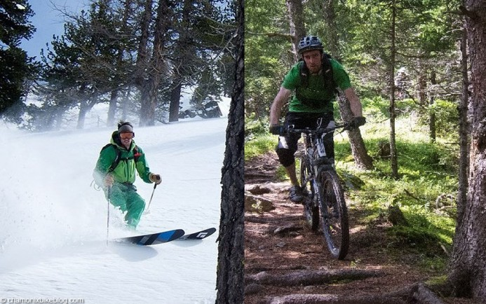 Skiing/biking, what's the difference really?