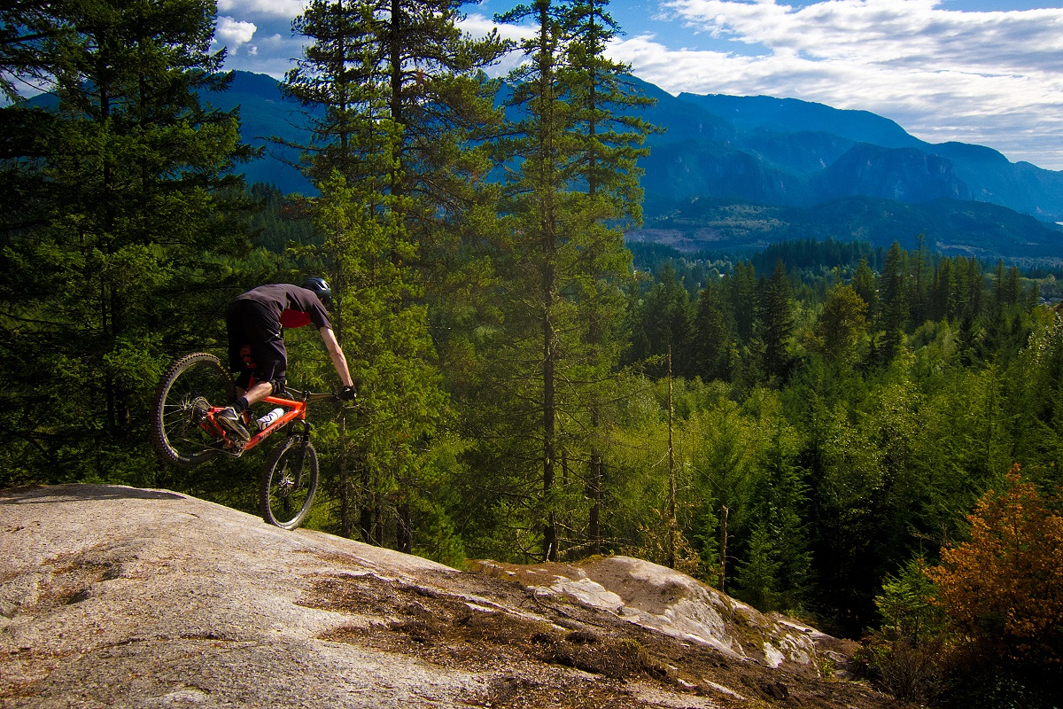 "Elbows out on ""Boney Elbows"" Squamish."